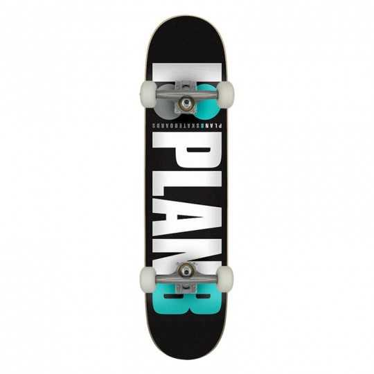 """Plan B Team OG 7.75"""" Teal Skateboard Complet"""