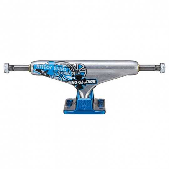 Independent 144mm Forged Hollow Stage 11 Joslin Blue skateboard truck