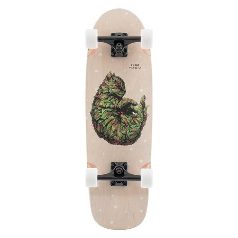 "Landyachtz Tugboat Meowijuana 30"" Cruiser skateboard"