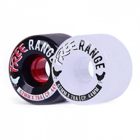 Free Wheel Range 62mm Roues longboard