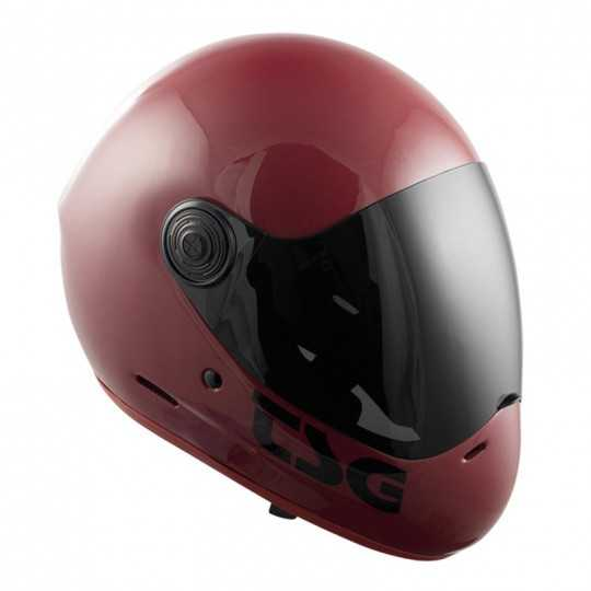 TSG Pass Gloss Oxblood Casque longboard