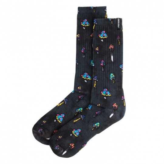 Santa Cruz Shroom Grey Men's Socks