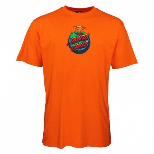 "Santa Cruz ""Doom Dot"" Orange Tee Shirt"