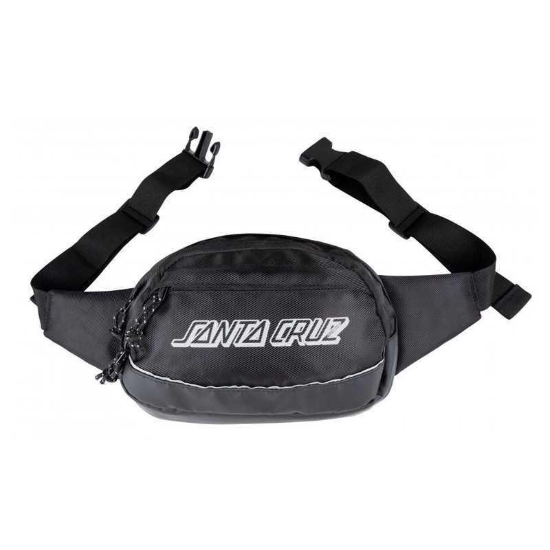 Santa Cruz Classic Strip Waistpack Black
