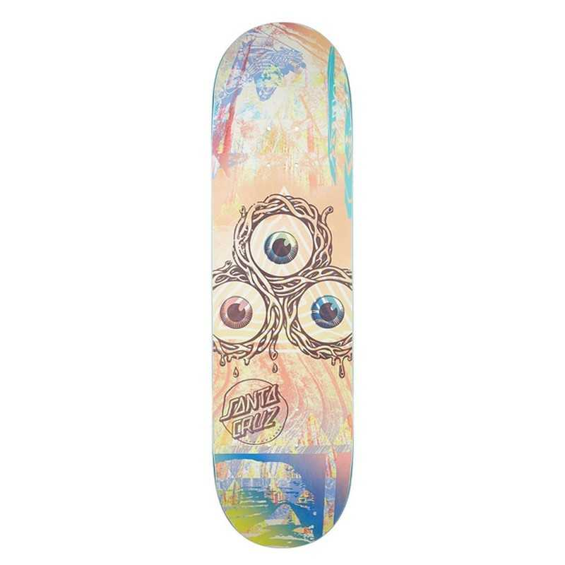 "Santa Cruz Everslick Til The Day 8.25"" Plateau Skateboard"