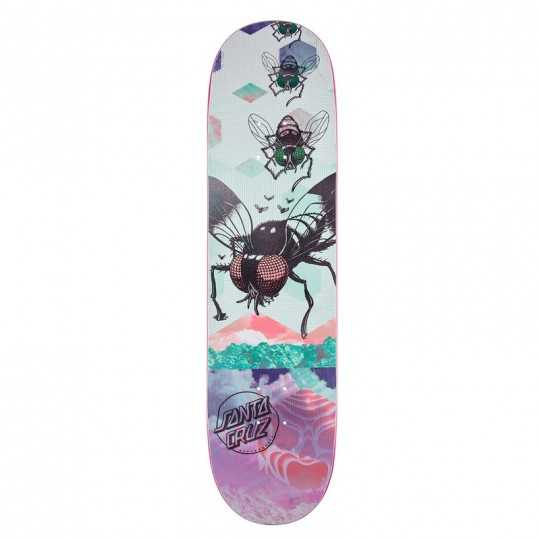 "Santa Cruz Everslick Til The Dawn 8"" Plateau Skateboard"
