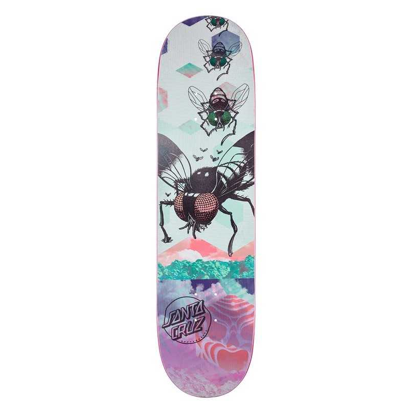 "Santa Cruz Everslick The Dawn 8"" Skateboard Deck"