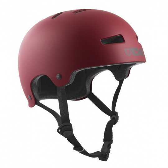 TSG Evolution Satin Oxblood Skateboard Helmet