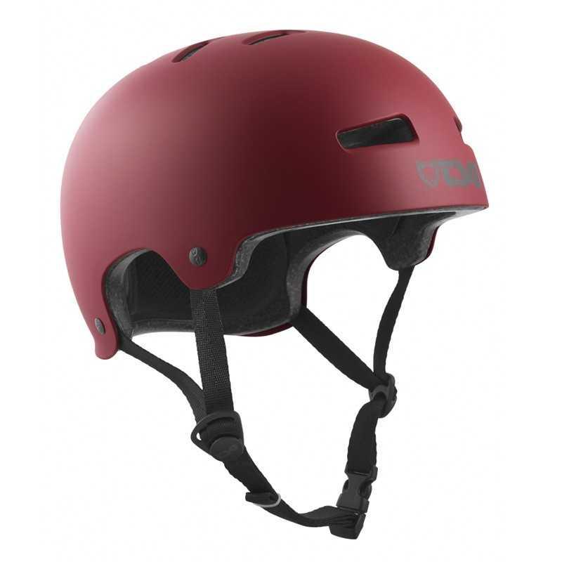 TSG Evolution Satin Oxblood Skateboard Helmet