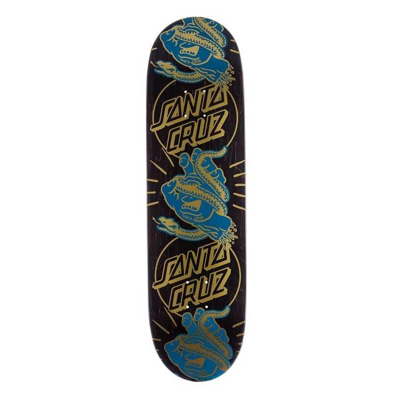 """Santa Cruz Snakebite Boats 8.6"""" Skateboard Deck"""