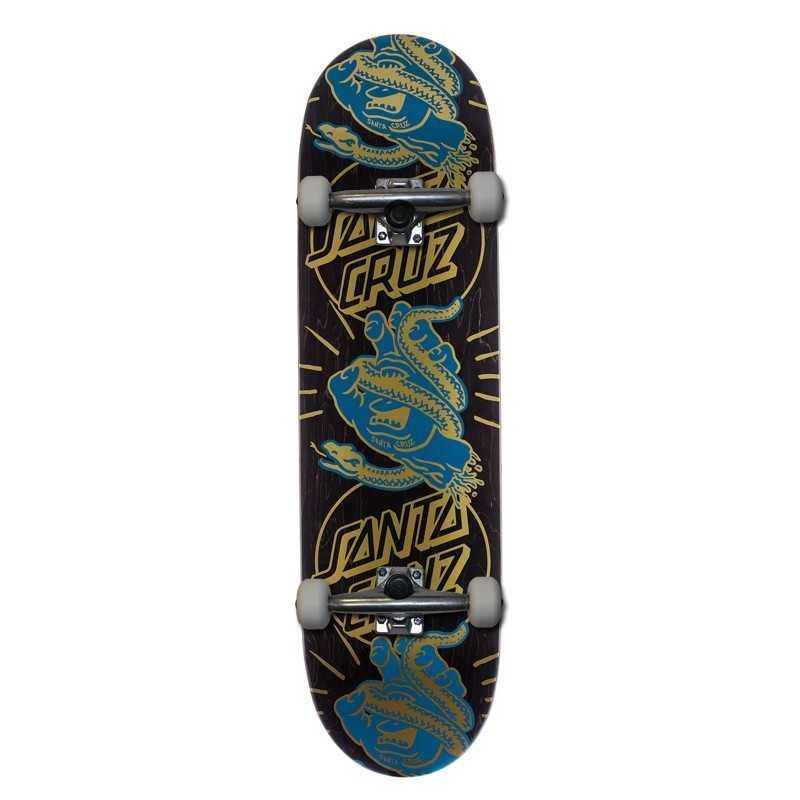 """Santa Cruz Snakebite Boats 8.6"""" Complete Skateboard"""