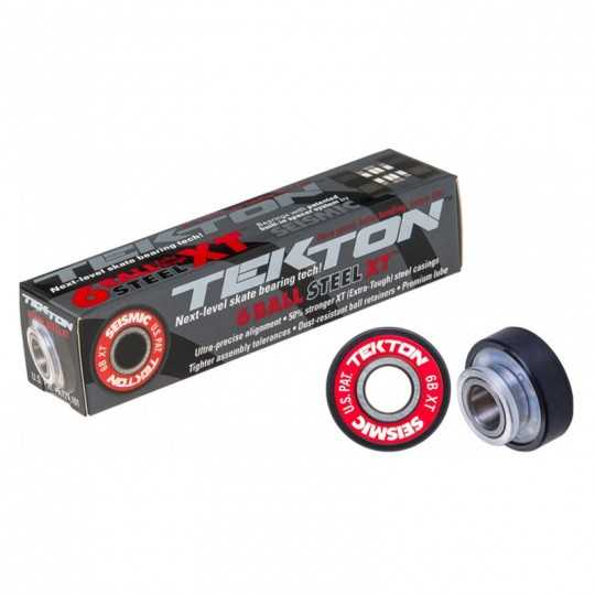 Seismic Tekton 6-Ball 8mm XT Built-In Bearings Skateboard