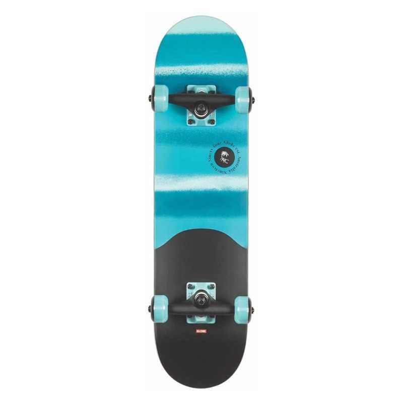 "Globe Argo Mini 7"" Blue Skateboard Complet"