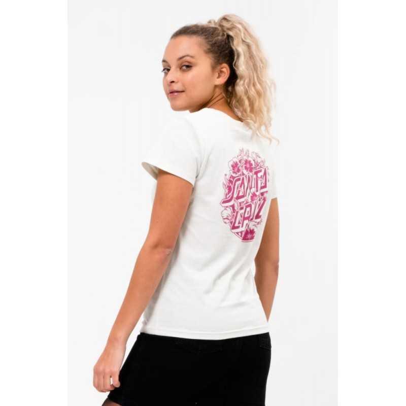 Santa Cruz Cali Poppy Fog T-Shirt Femme
