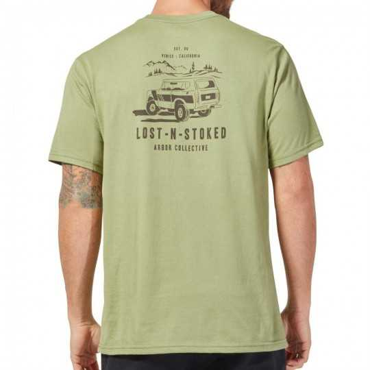 Arbor Cruiser Tee Shirt Light Olive