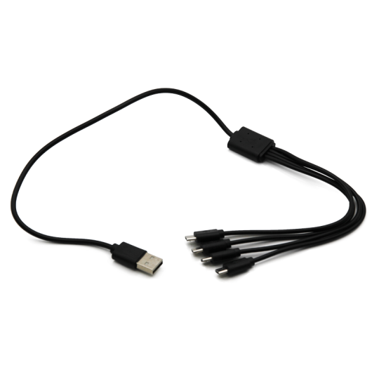 Shredlights Quad Micro USB Charging Cable