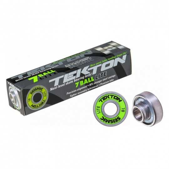 Seismic Tekton 7-Ball Lite Built-In Roulements Skateboard