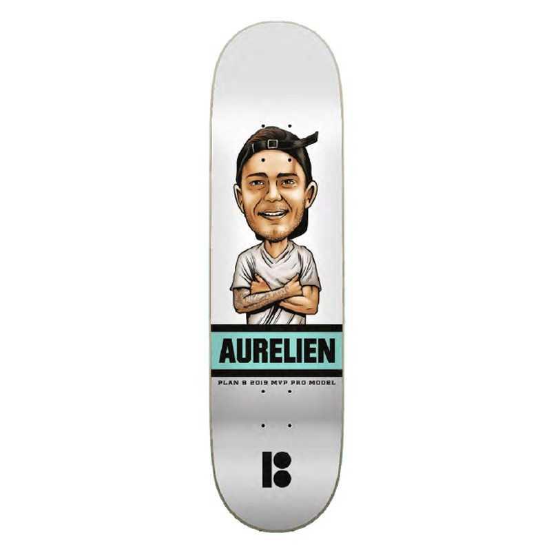 "Plan B Aurélien Giraud Mvp 8"" Plateau Skateboard"