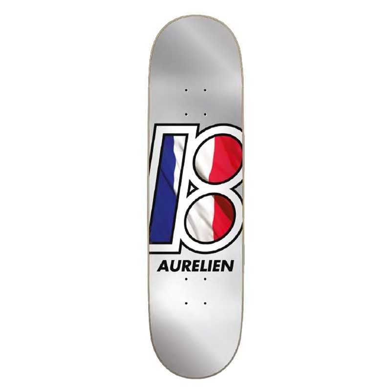 "Plan B A urélien Giraud Global 8"" Skateboard Deck"