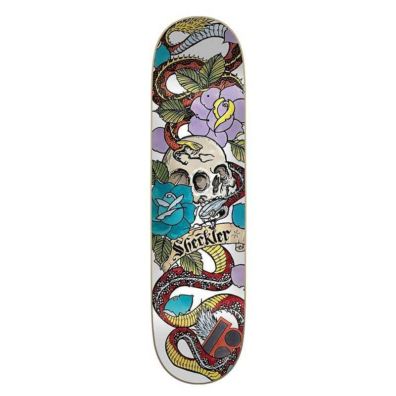 "Plan B Ryan Sheckler 8"" Cranial Plateau Skateboard"