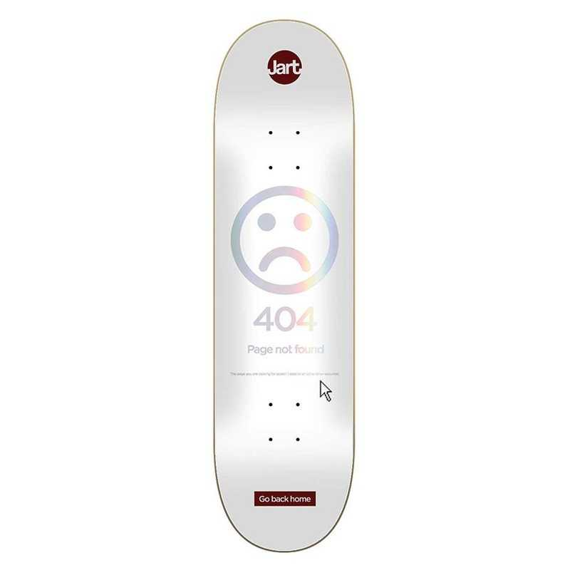 "Jart 404 8.25"" HC Plateau Skateboard"
