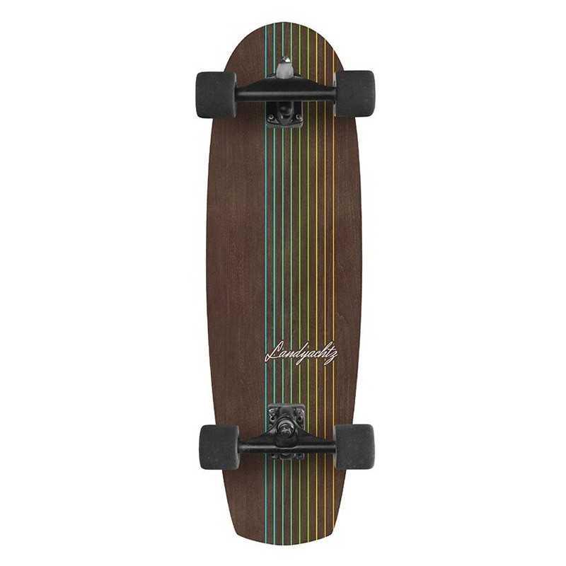 """Landyachtz Butter Walnut Lines 31"""" Surfskate"""