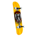 "Powell Peralta Vallely PP 8"" Yellow Skateboard Complet"