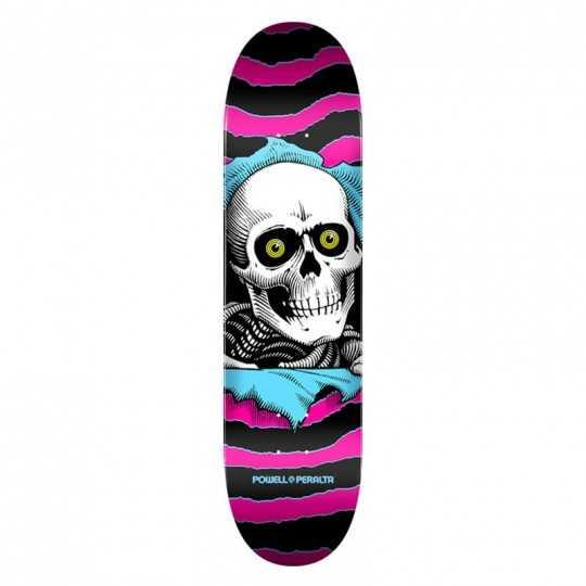 """Powell Peralta Ripper PP 7.75"""" Pink Skateboard Deck"""