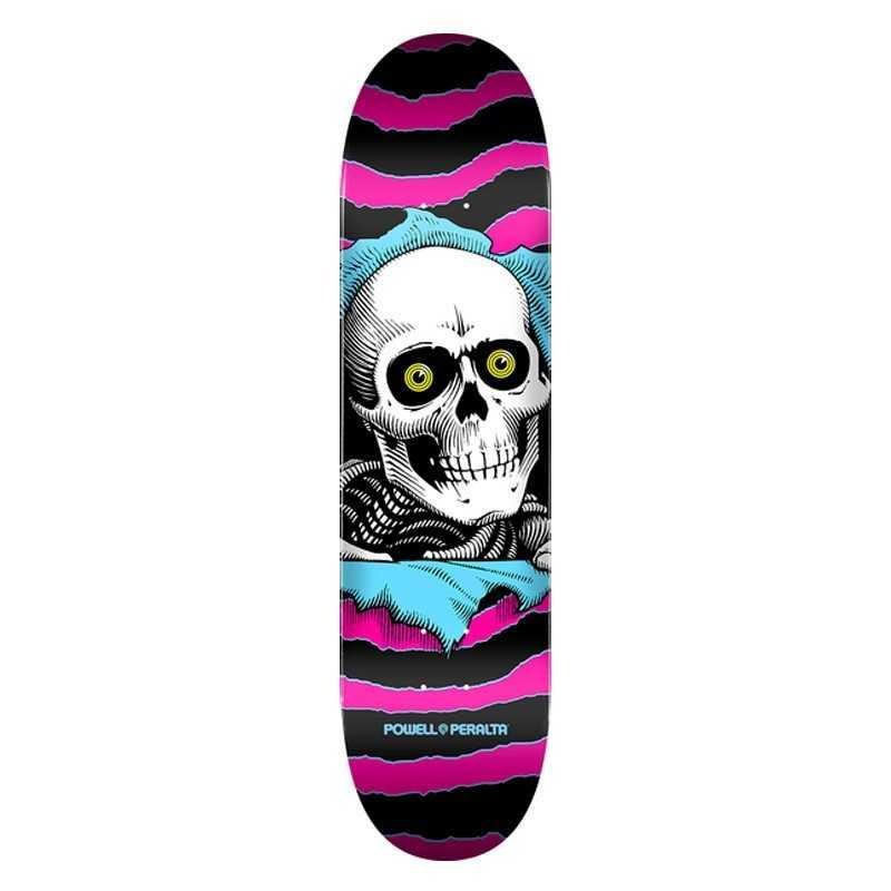 "Powell Peralta Ripper PP 7.75"" Pink Plateau Skateboard"