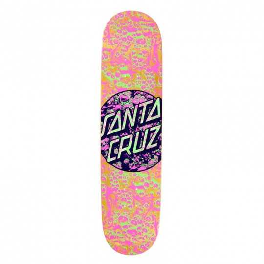 "Santa Cruz Foam Dot 8.125"" Plateau Skateboard"