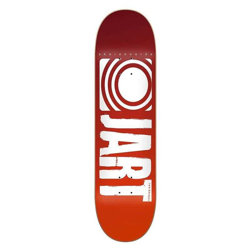 "Jart Classic 7.6"" LC rouge Plateau Skateboard"