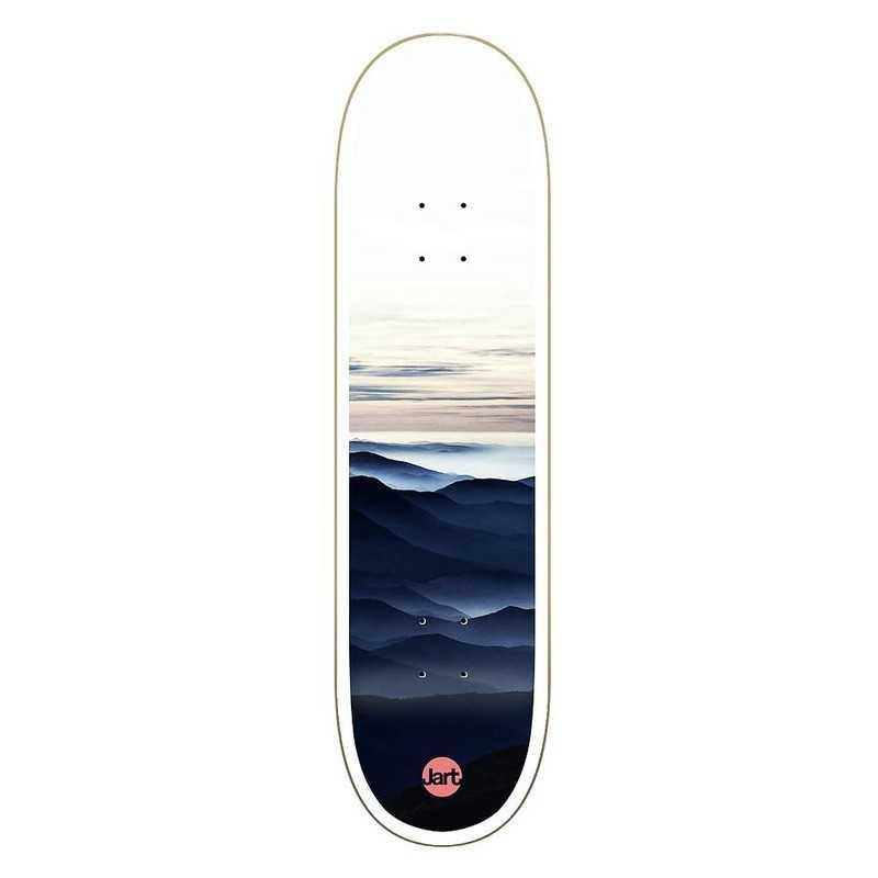 "Jart Foggy 8.25"" HC Skateboard Deck"