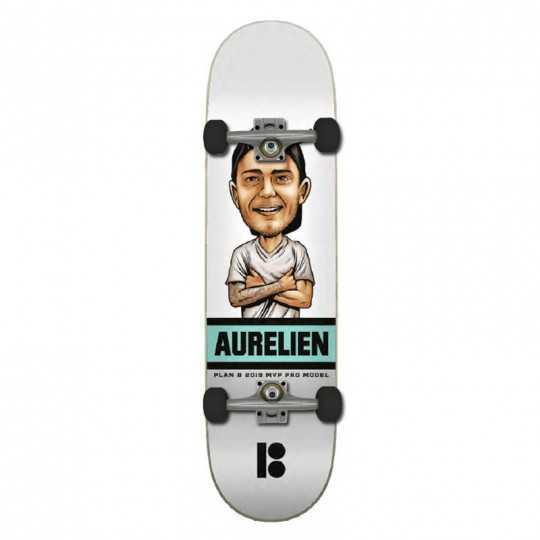 "Plan B A Giraud 8"" Mvp Skateboard Complet"