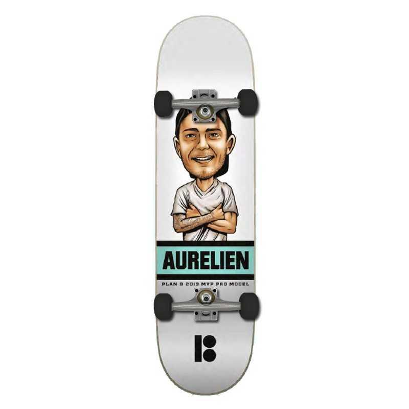 """Plan B A Giraud 8"""" Mvp Complete Skateboard"""