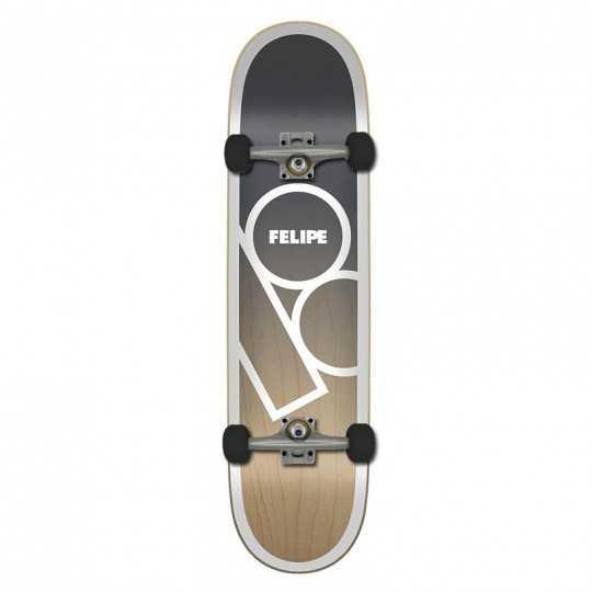 "Plan B Felipe 8.25"" Andromeda Complete Skateboard"