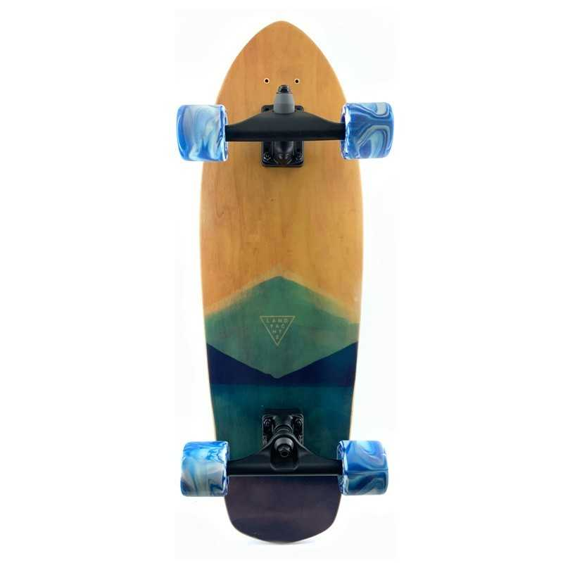 "Landyachtz Pocket Knife 31"" Watercolor Surfskate"