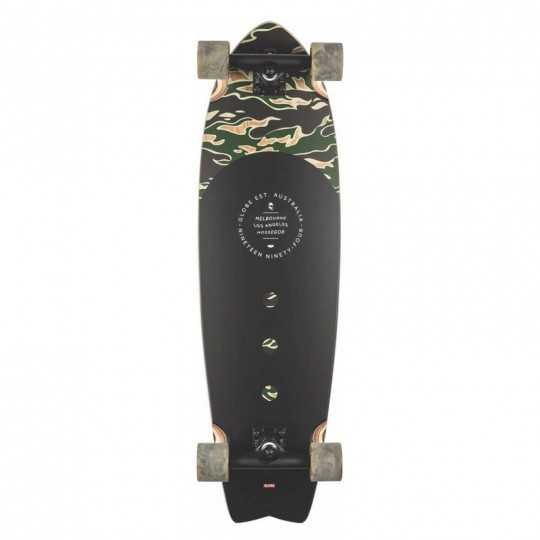 "Globe Chromatic 33"" Tiger Camo  Skateboard Cruiser"
