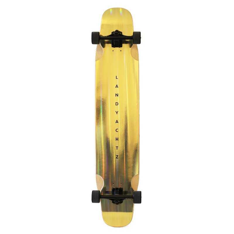 "Landyachtz Stratus 46"" Gold Complete Longboard"