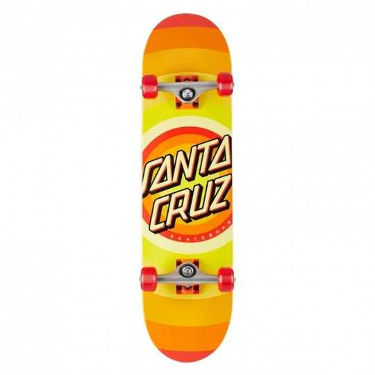 "Santa Cruz Gleam Dot 8"" Skateboard"