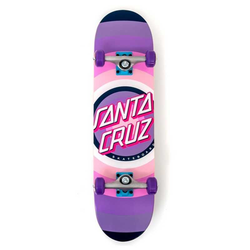 "Santa Cruz Gleam Dot 7.75"" Skateboard"