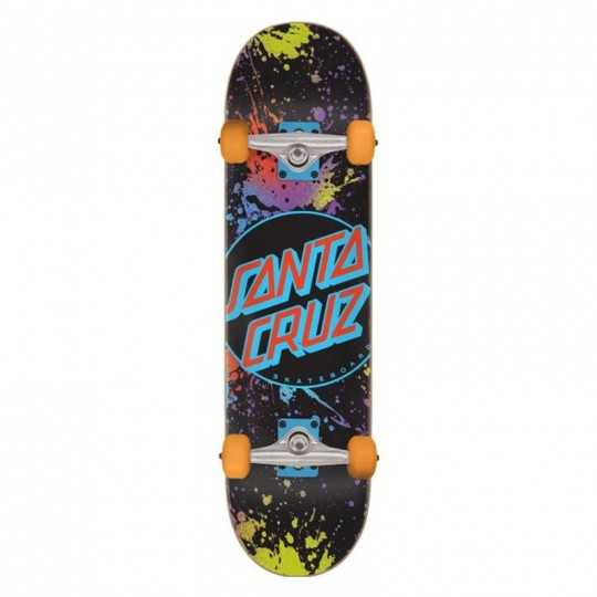 "Santa Cruz Dot Splatter 8.25"" Skateboard"