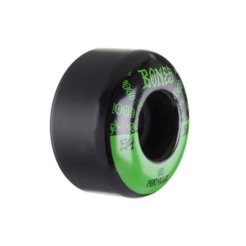Bones 100's V4 54mm Black N°13 Skateboard Wheels