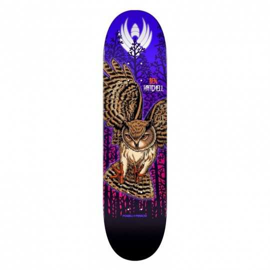 "Powell Peralta Flight Hatchell 8.5"" Owl Plateau Skateboard"