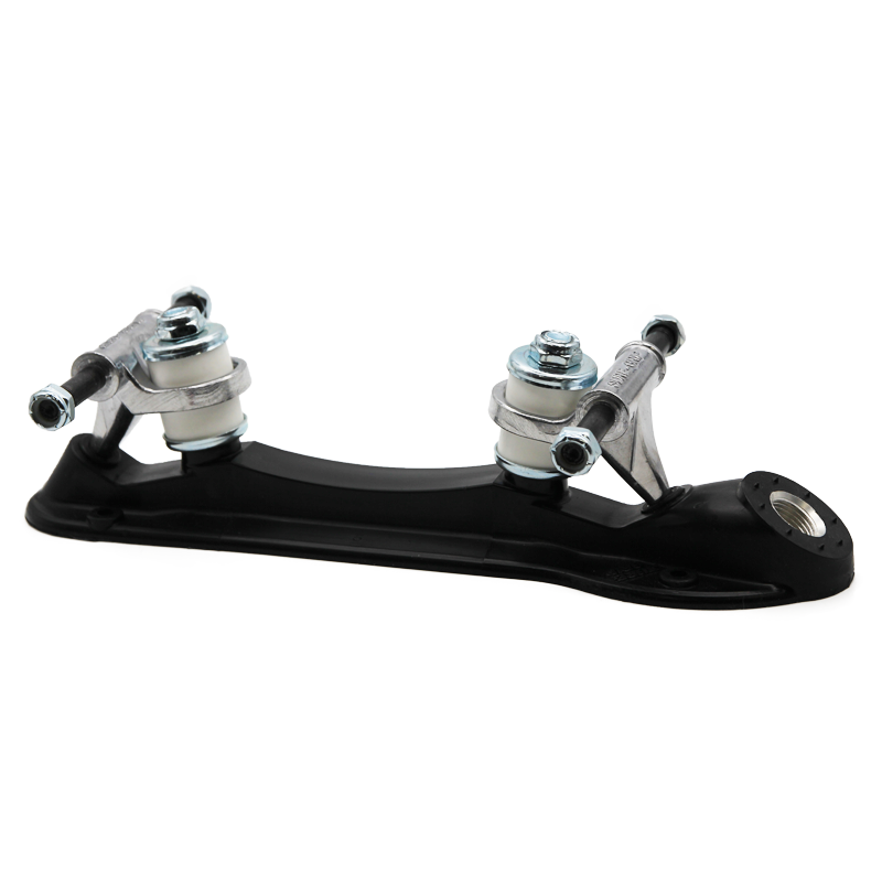 Sure-Grip Probe Black Roller Skate Plates