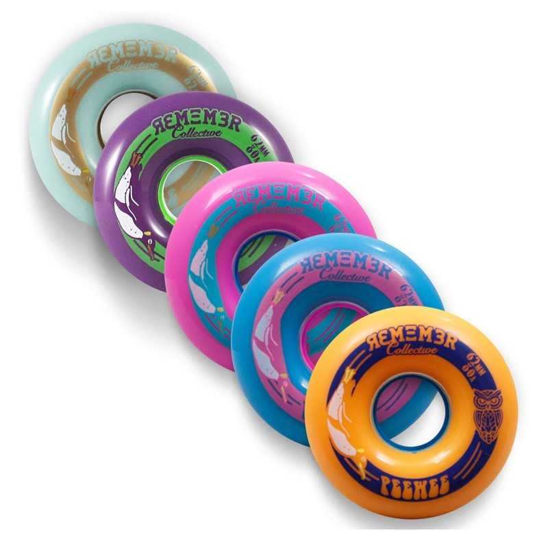 Remember Peewee 62 Roues Longboard slide