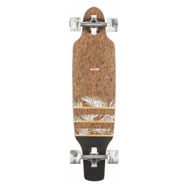 "Globe Mini Spearpoint 33.5"" Cork/Agave Longboard"