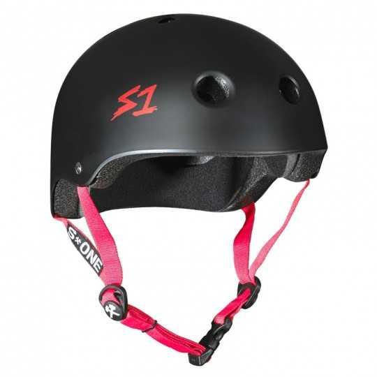S-One Lifer Black Matte/Red Helmet(Shell)