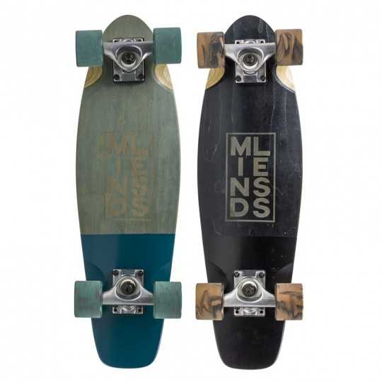 mindless stained daily 3 mini cruiser skateboard