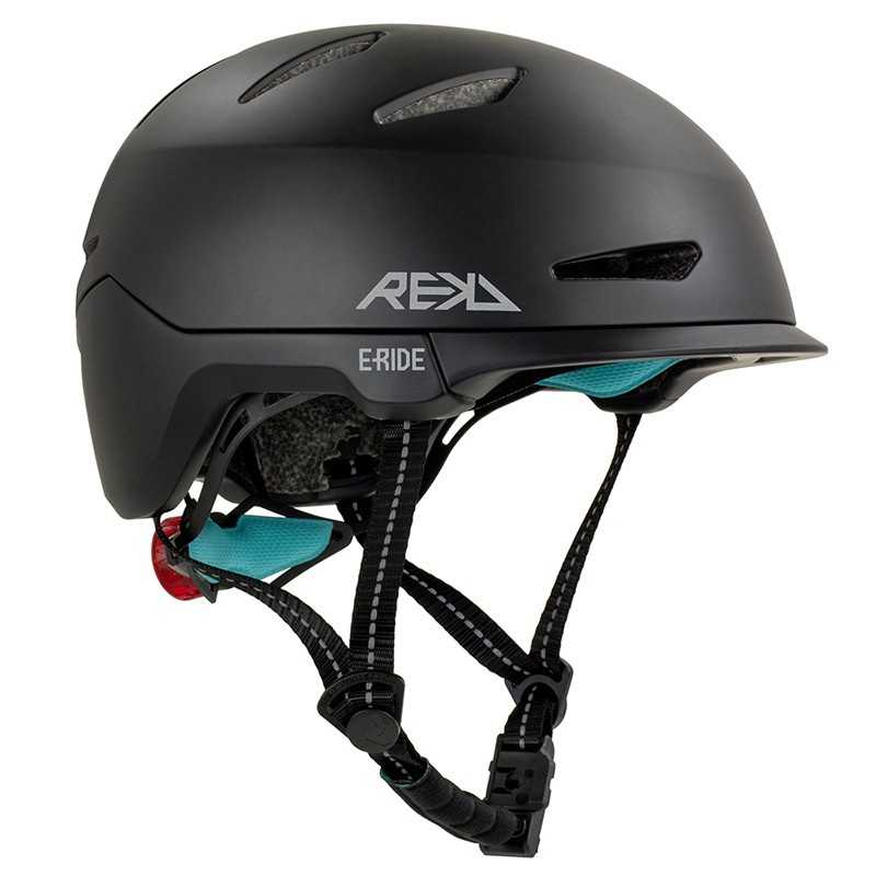Rekd Urbanlite E-Ride Black Casque