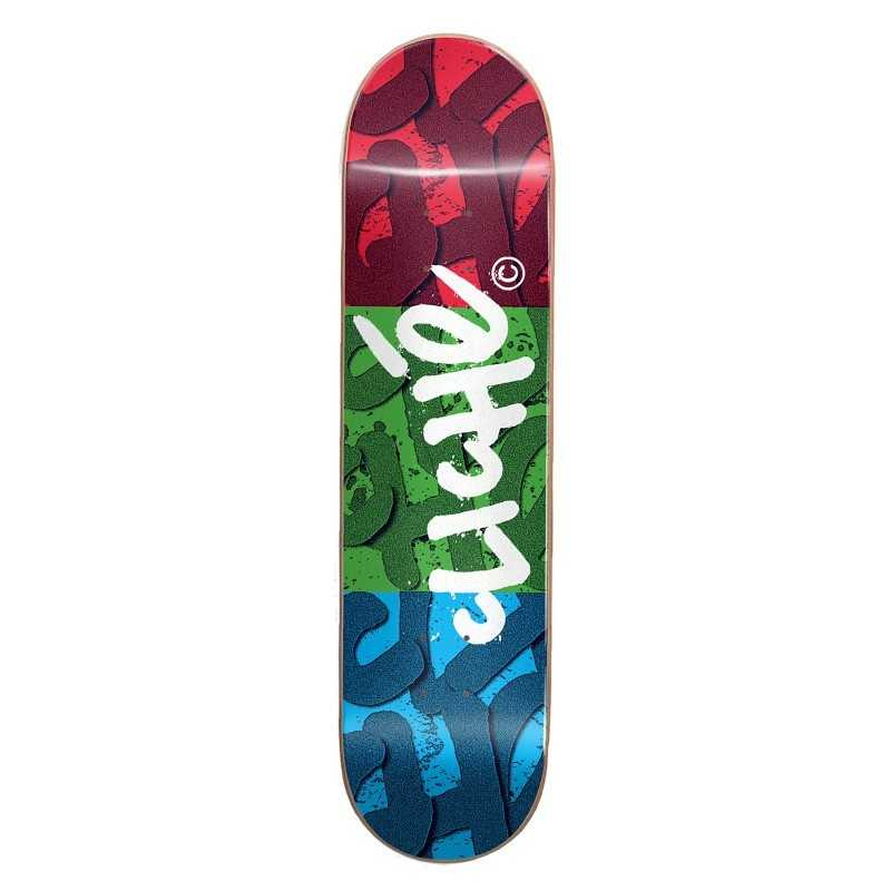 "Cliché RGB 8.25"" Red Green Blue Skateboard Deck"